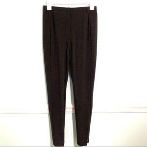 J. Jill Ponte Leggings Pull On Pants Grey Small NWOT